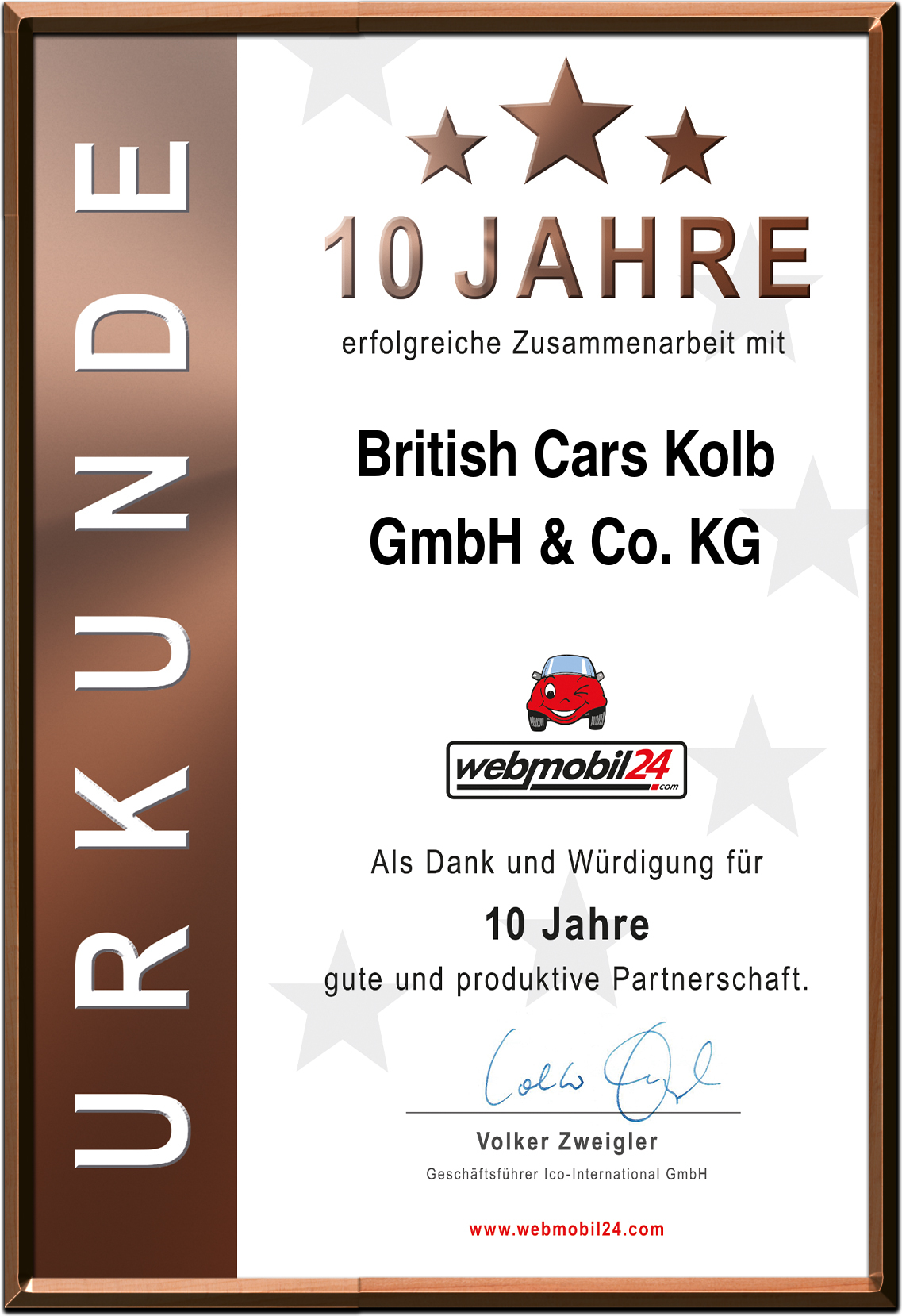 British Cars Kolb GmbH & Co. KG