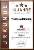Vinson Automobile